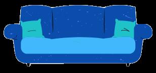 Immagine di un divano per il video sulla determinazione del prezzo di vendita