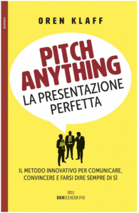 "Copertina del libro ""Pitch anything"""
