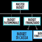La composizione del budget di cassa