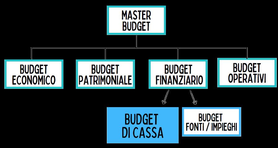 Schema per la definizione del budget di cassa