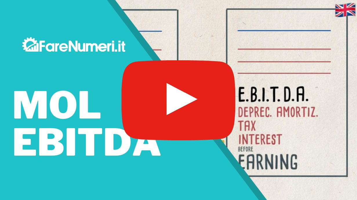 Video dell'Ebitda sul canale Youtube Farenumeri